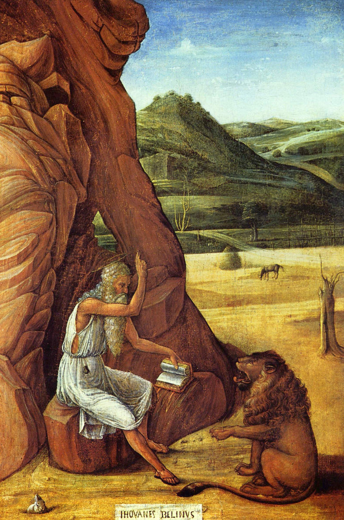 Giovanni Bellini - Saint Jerome in the Desert v