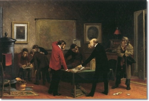 William Holbrook Beard - Scientists at Work