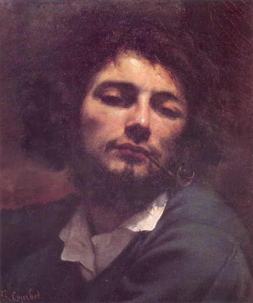 Gustave Courbet - Self-Portrait at Age 30