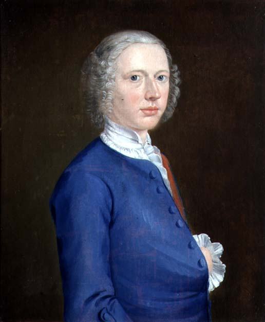 Arthur William Devis - Self Portrait 1737