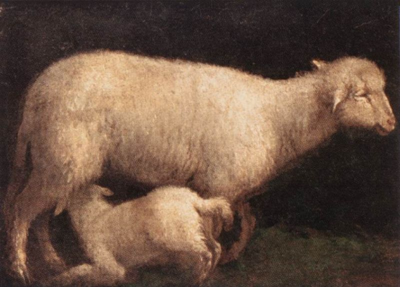 Jacopo Bassano - Sheep and Lamb