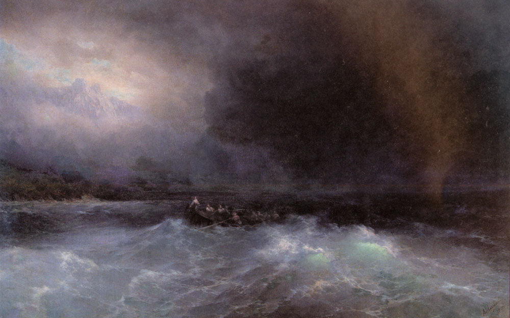 Ivan Aivazovsky - Ship at Sea