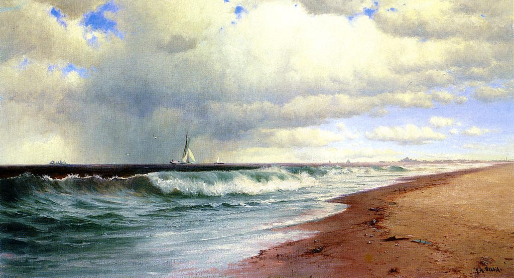 Francis Silva - Ships Approaching Atlantic City