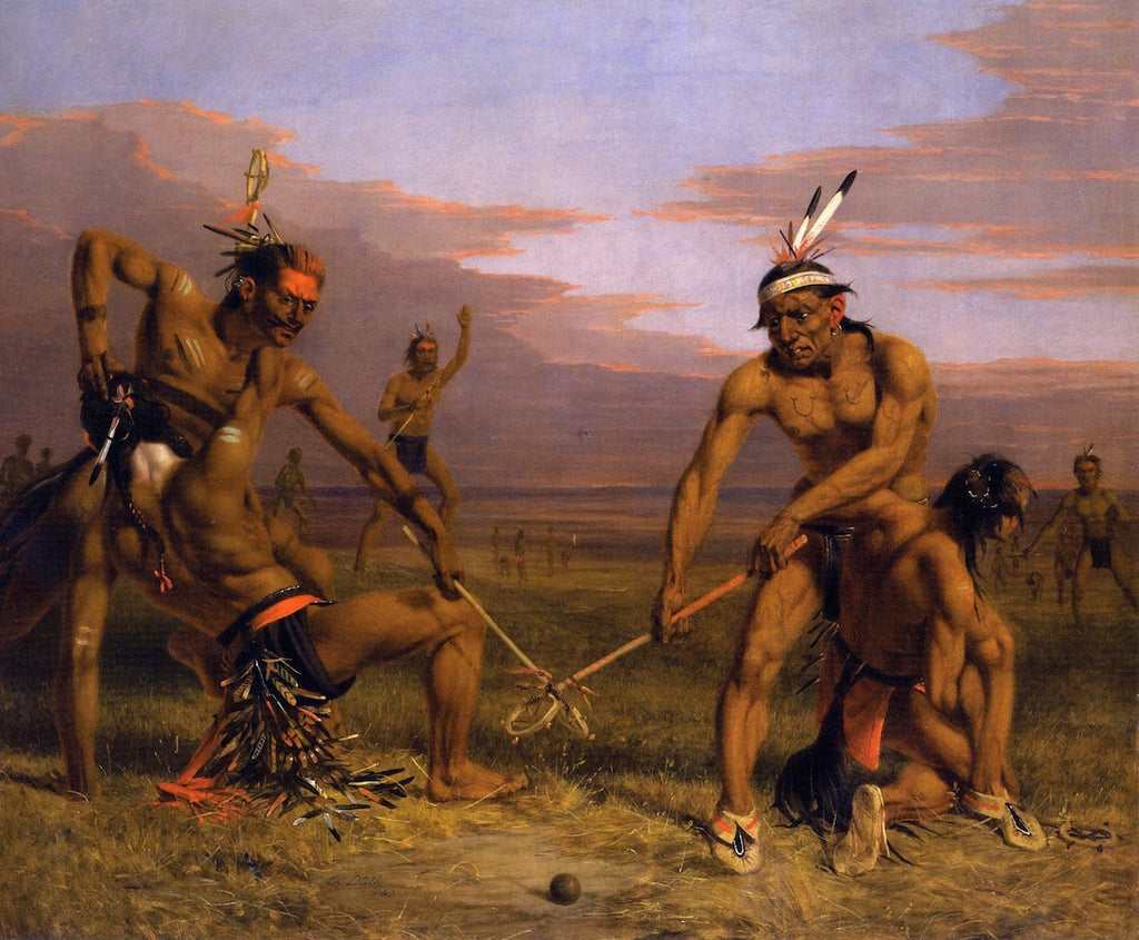 Charles Deas - Sioux Playing Ball