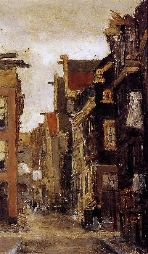 Floris Arntzenius - Spiegelstraat in Amsterdam