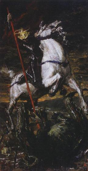 Valentin Alexandrovich Serov - St. George and the Dragon