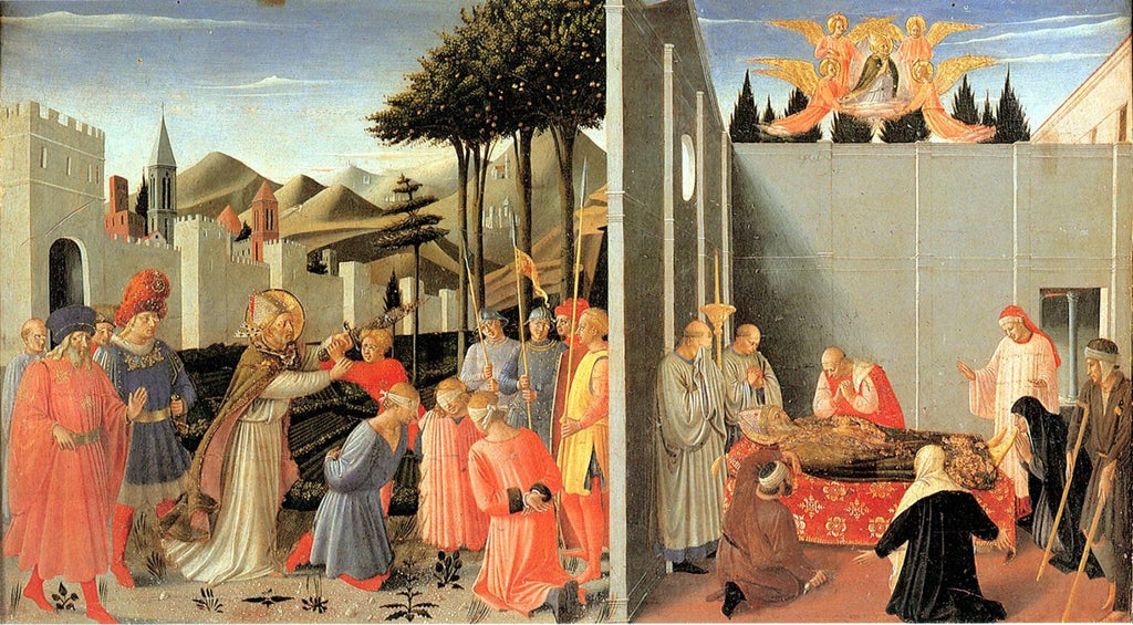 Fra Angelico - St. Nicolas Frees the Innocent, His Death
