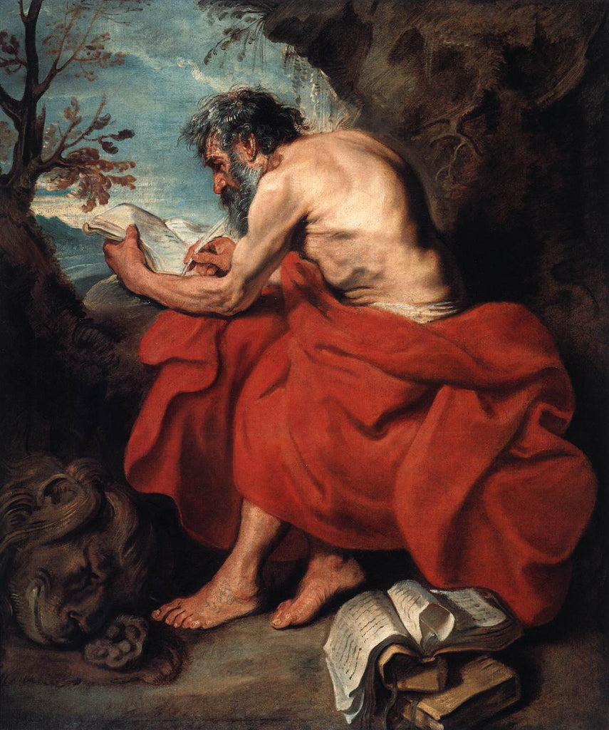 Sir Anthony van Dyck - St Jerome