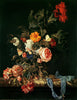 Willem van Aelst - Still Life with Poppies and Roses