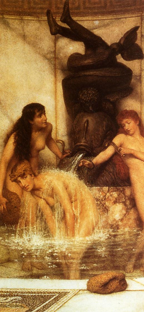 Lawrence Alma-Tadema - Stirgils and Sponges
