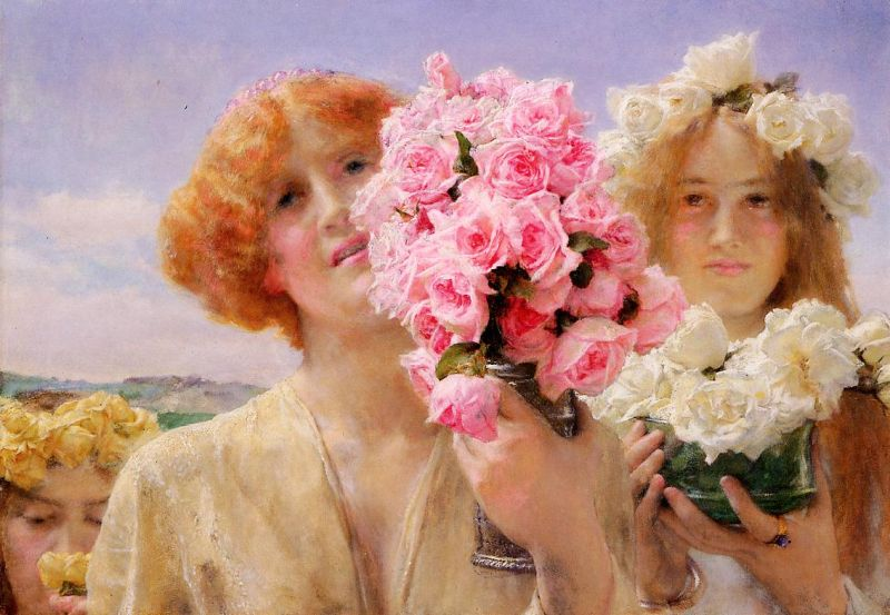 Lawrence Alma-Tadema - Summer Offering