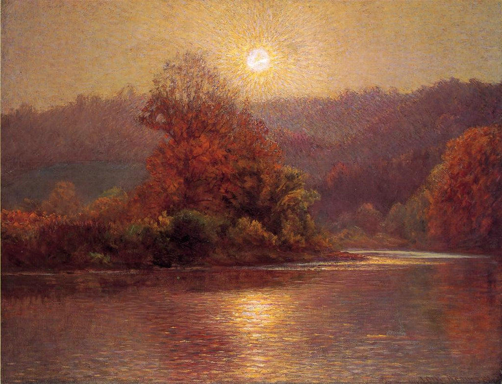 John Ottis Adams - The-Closing-of-an-Autumn-Day-1901