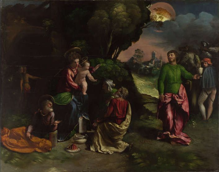 Dosso Dossi - The Adoration of the Kings
