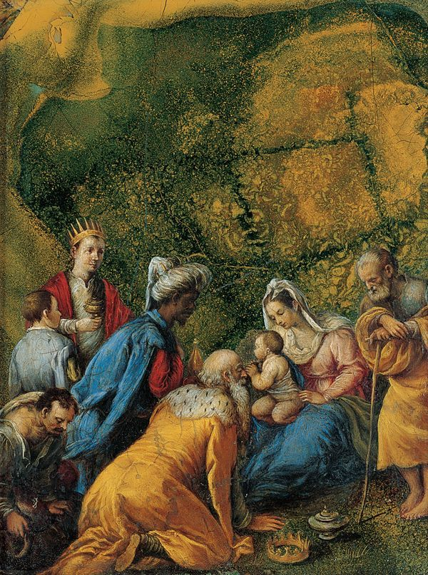 Jacopo Bassano - The Adoration of the Magi