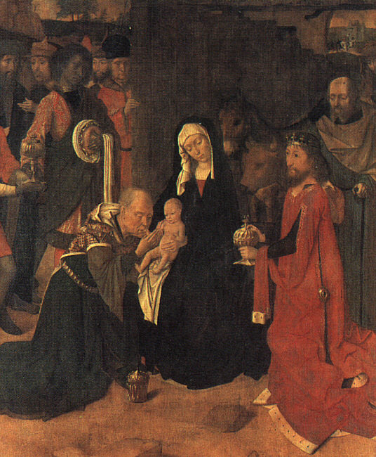 Gerard David - The Adoration of the Magi