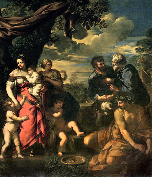 Pietro da Cortona - The Alliance of Jacob and Laban