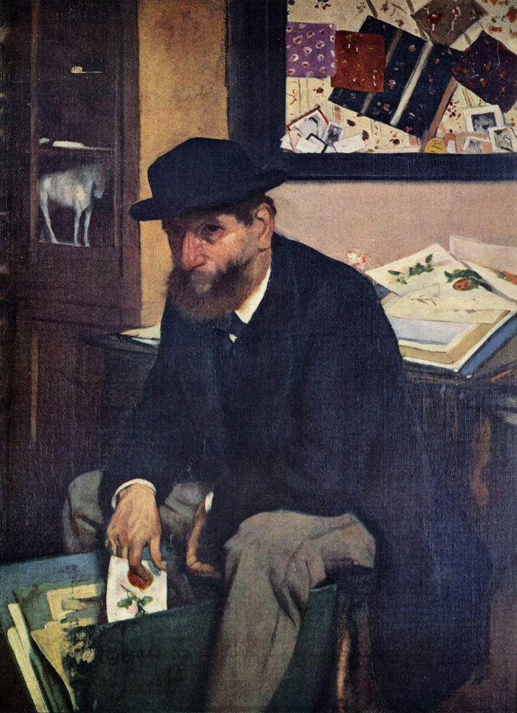 Edgar Degas - The Amateur