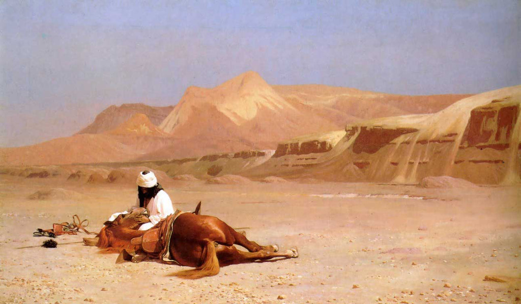 Jean-Leon Gerome - The Arab and his Steed