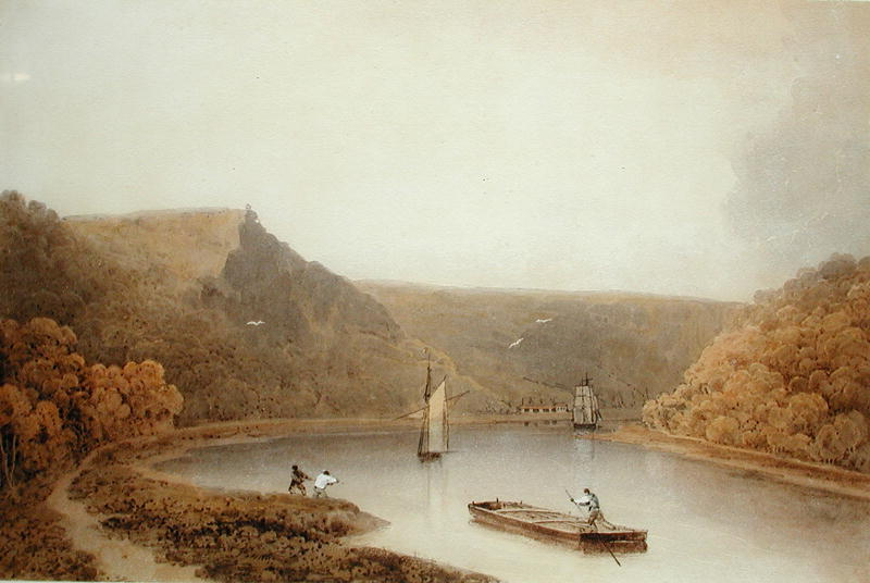 Francis Danby - The Avon Gorge near Bristol