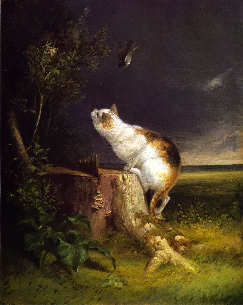 William Holbrook Beard - The Birdwatcher