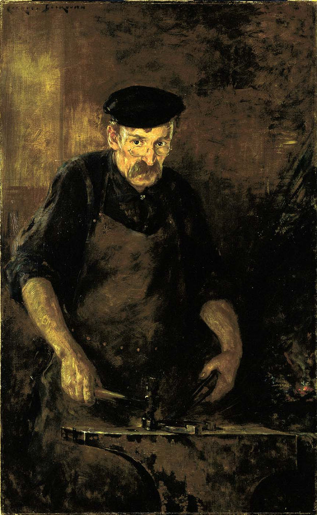 Carroll Beckwith - The Blacksmith