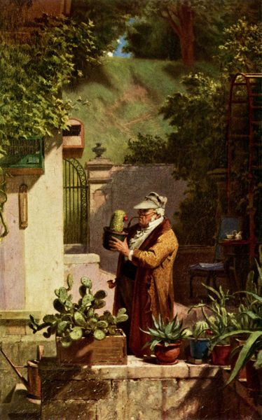 Carl Spitzweg - The Cactus Friend