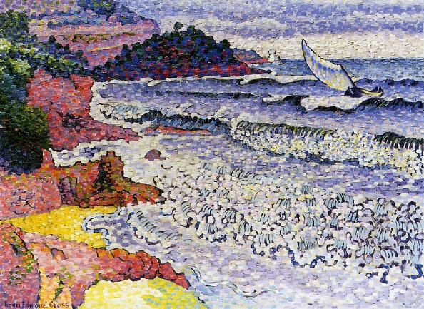 Henri Edmond Cross - The Choppy Sea
