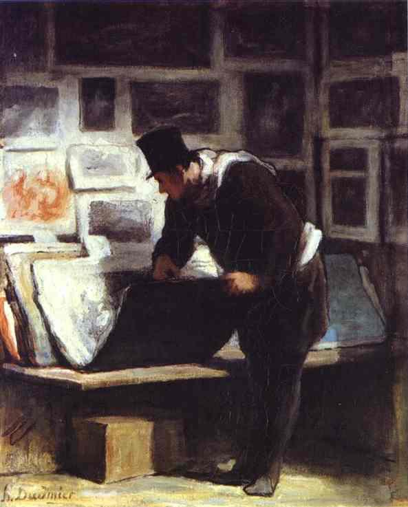 Honore Daumier - The Collector of Engravings