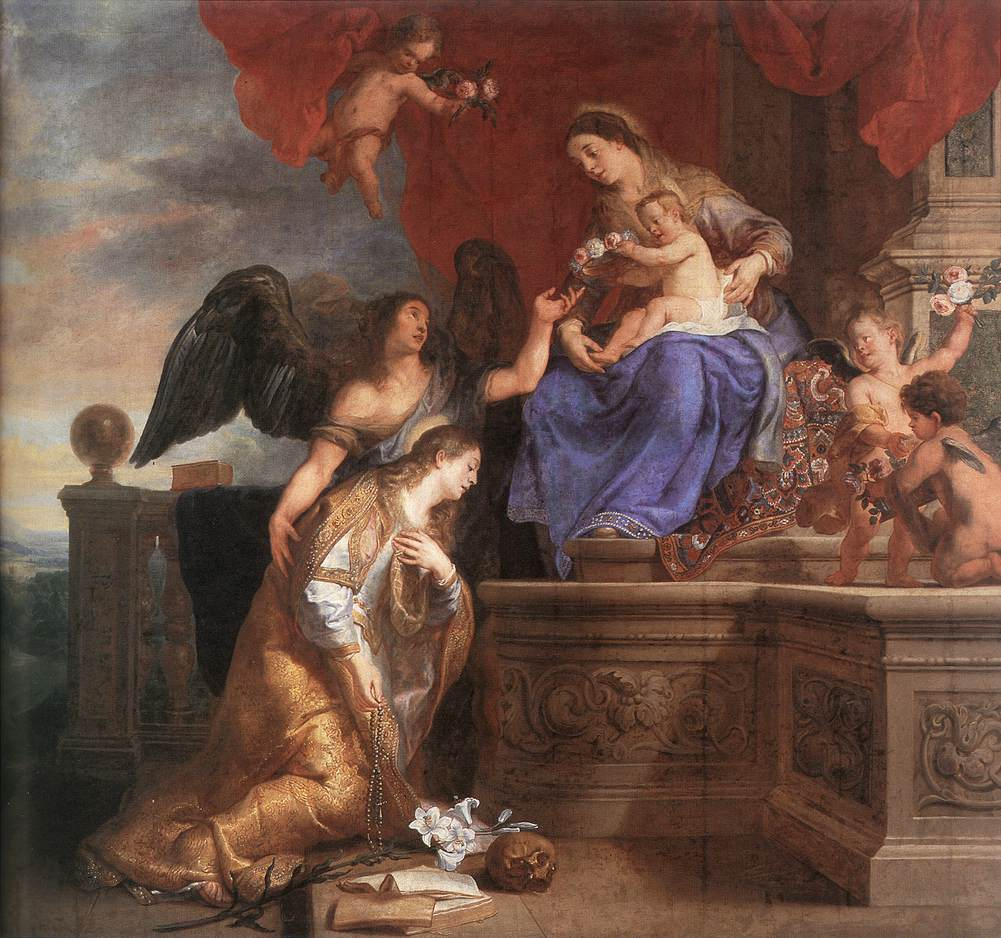 Gaspard de Crayer - The Coronation of St Rosalie