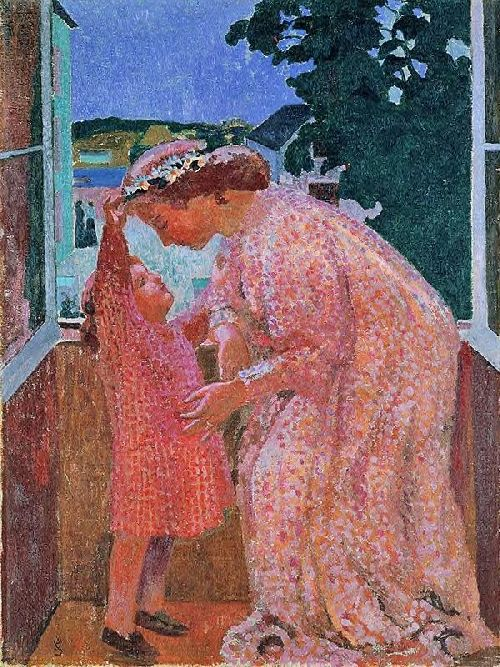Maurice Denis - The Crown of Daisies