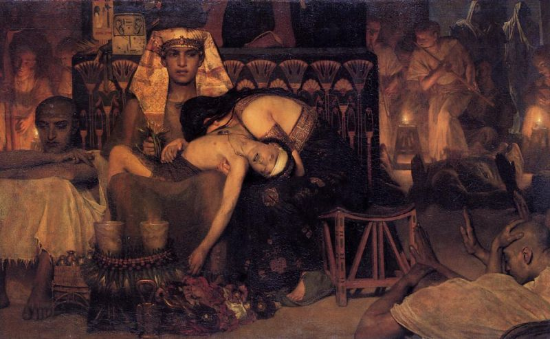 Lawrence Alma-Tadema - The Death of the First Born