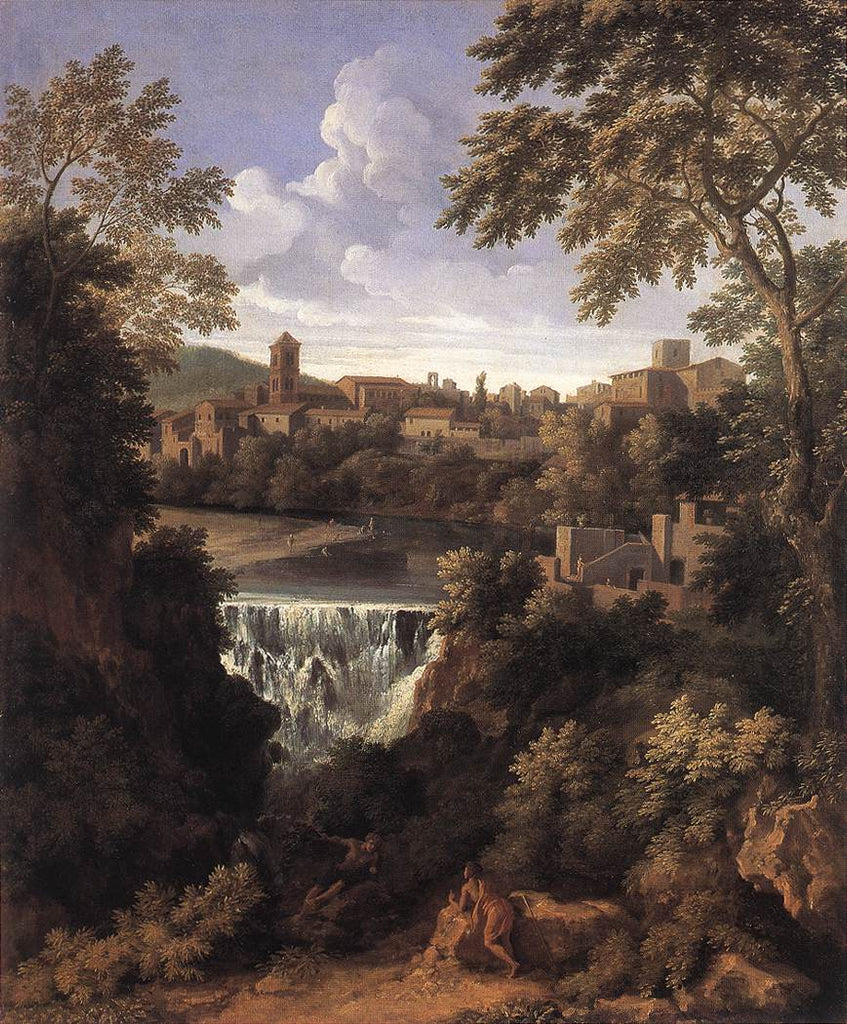 Gaspard Dughet - The Falls of Tivoli