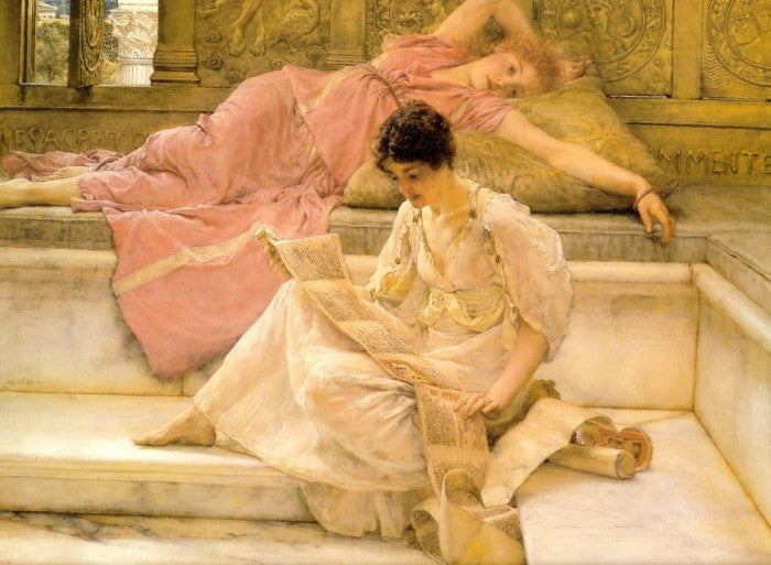 Lawrence Alma-Tadema - The Favourite Poet