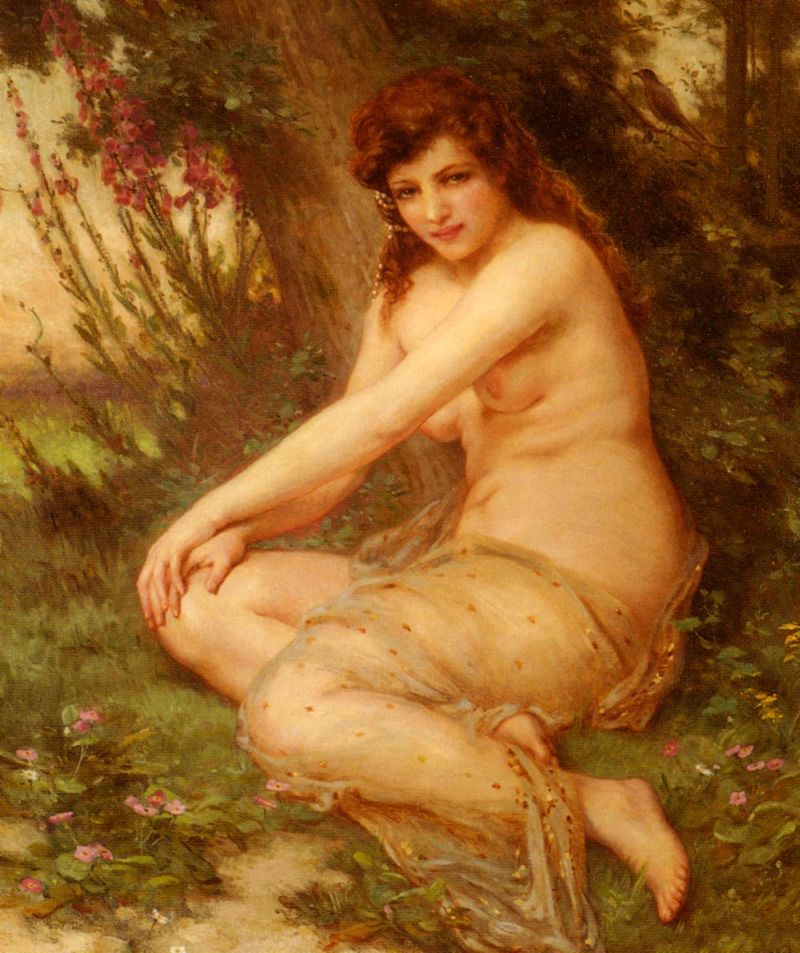 Guillaume Seignac - The Forest Nymph
