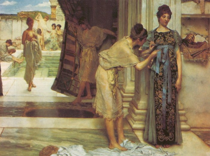 Lawrence Alma-Tadema - The Frigidarium