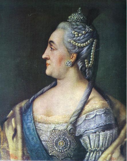 Aleksey Antropov - Portrait Of Catherine III The Great