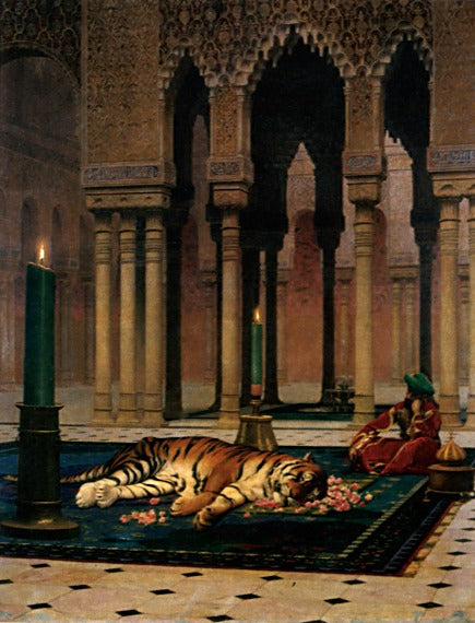 Jean-Leon Gerome - The Grief of the Pasha
