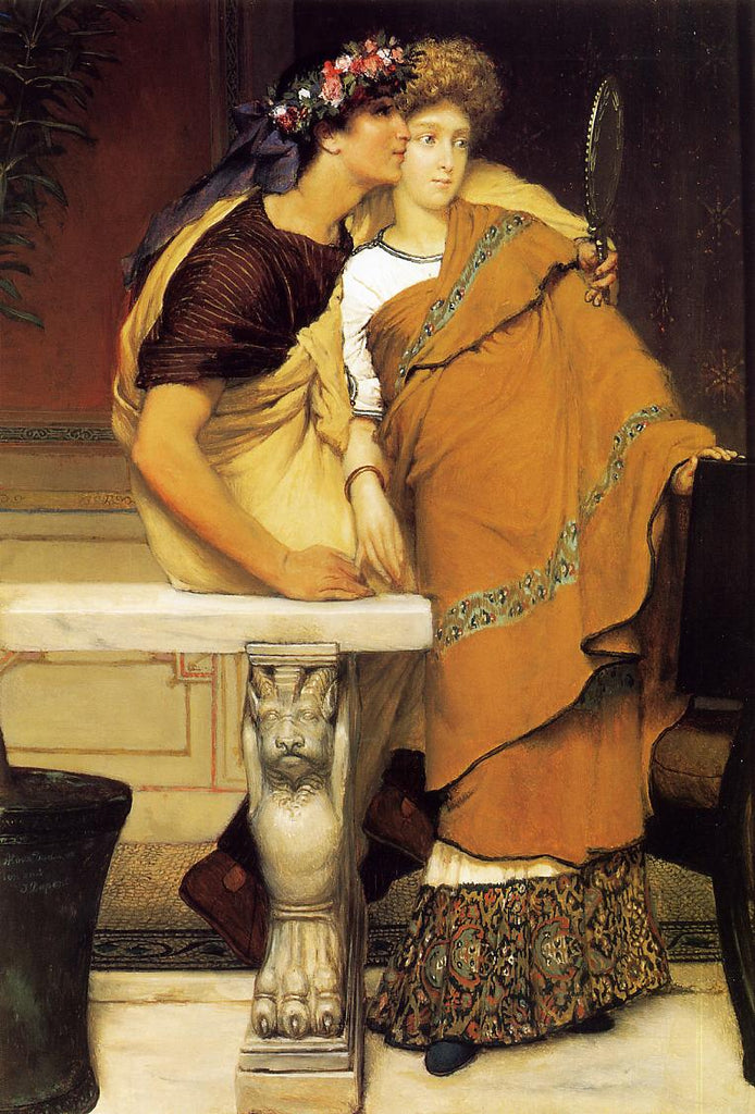 Lawrence Alma-Tadema - The Honeymoon
