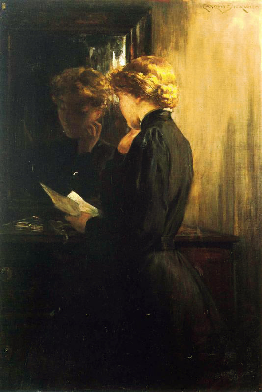 Carroll Beckwith - The Letter
