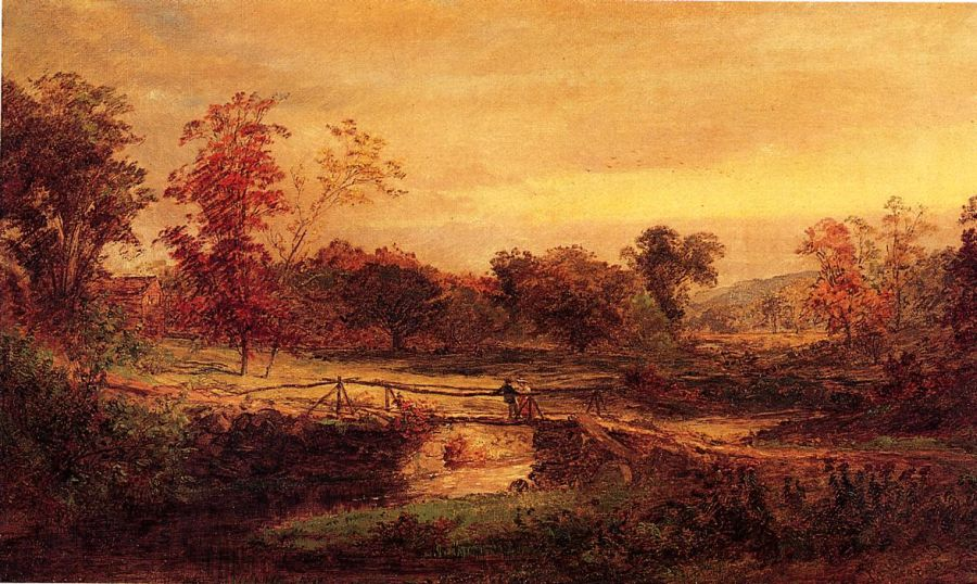 Jasper Francis Cropsey - The Meeting