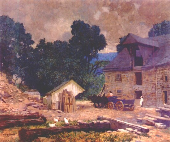 Robert Spencer - The Mill Yard