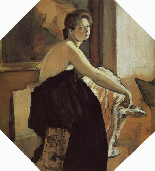 Valentin Alexandrovich Serov - The Model