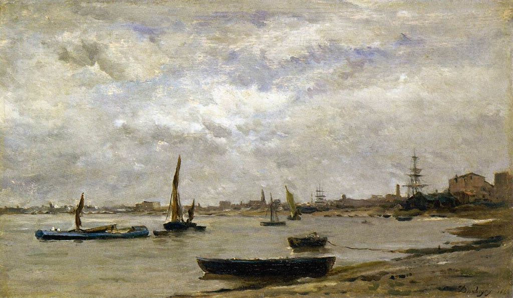 Charles Francois Daubigny - The Mouth of the Thames