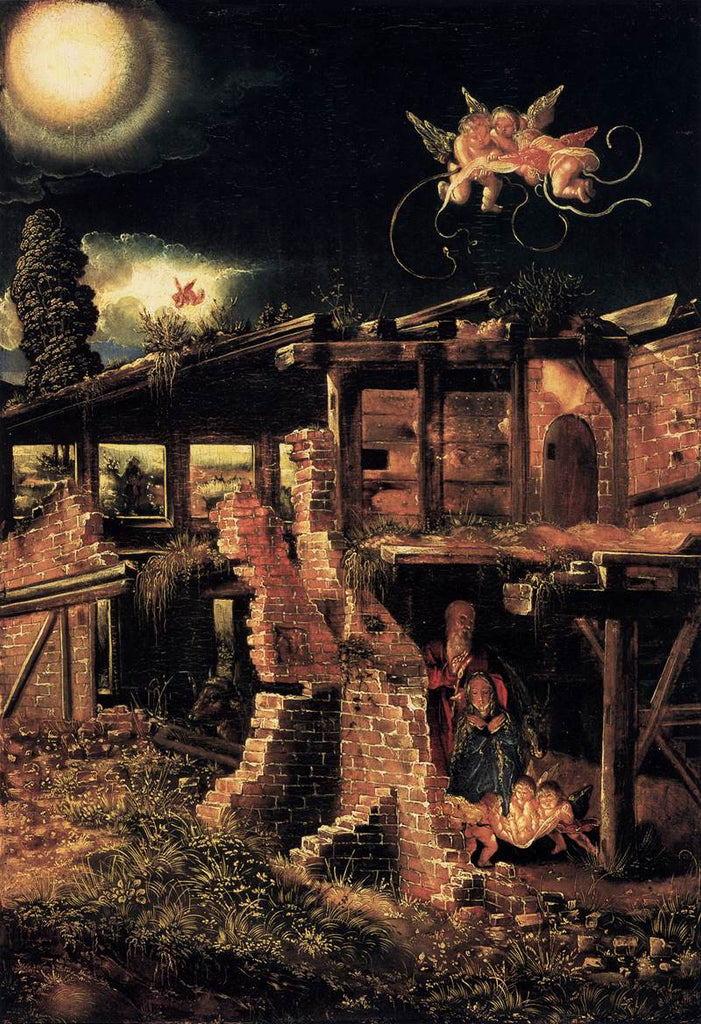 Albrecht Altdorfer - The Nativity