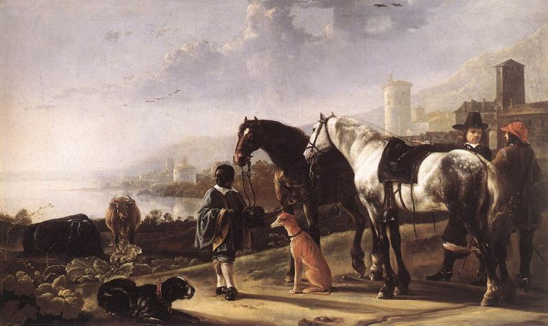 Aelbert Cuyp - The Negro Page