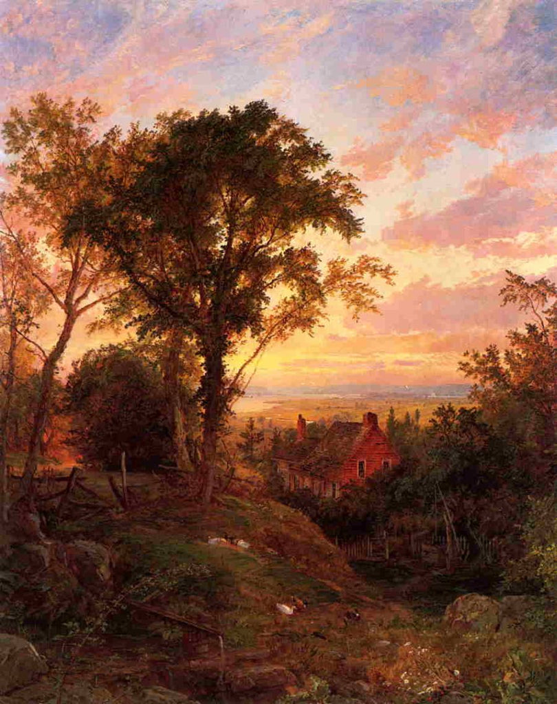 Jasper Francis Cropsey - The Old Home