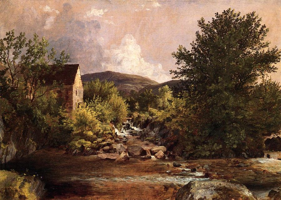 Jasper Francis Cropsey - The Old Mill