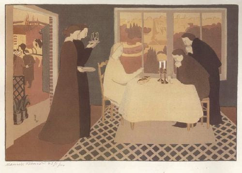 Maurice Denis - The Pilgrims of Emmaus
