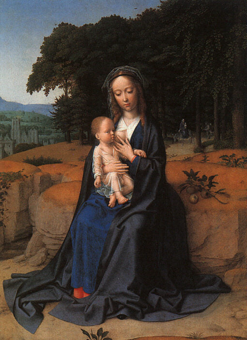 Gerard David - The Rest on the Flight into Egypt c