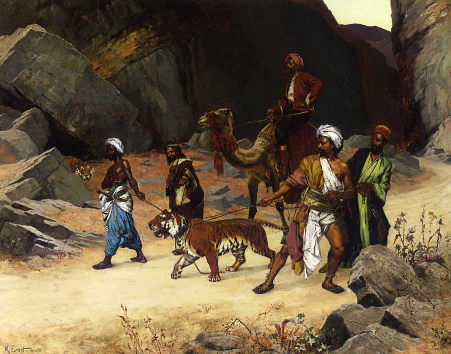 Rudolph Ernst - The Return from the Tiger Hunt